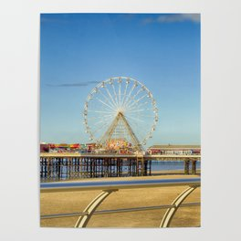 The North Pier Blackpool Poster