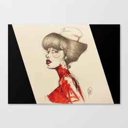 Nurse Paz Canvas Print