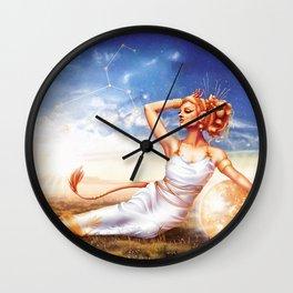 Leo OC - 12 Zodiac Ladies Wall Clock