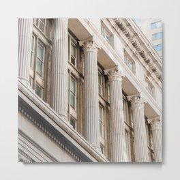 Pillars of the Neighborhood - NYC Photography Metal Print