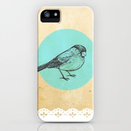Spotted bird iPhone Case