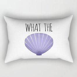 What The Shell Rectangular Pillow