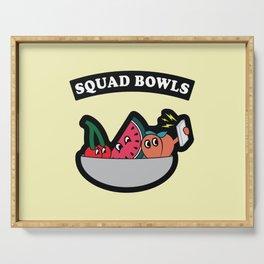 Squad Bowls Serving Tray
