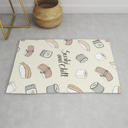 Sushi and Chill Rug