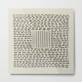 pattern 41 Metal Print