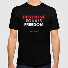 """Discipline Equals Freedom"" Jocko Willink T-shirt"