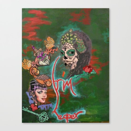 Night of the Dead Canvas Print