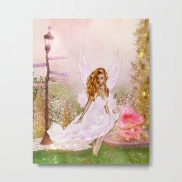 Pink Opal Metal Print