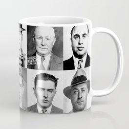 Mobster Mugshots Coffee Mug