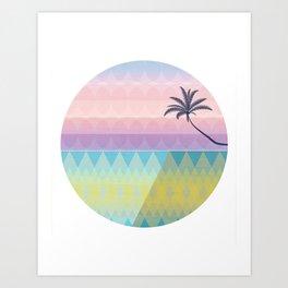Modern Beach Art Print