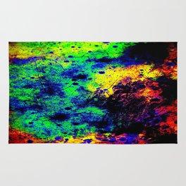Grunge Abstract : Rainbow Rug