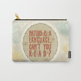 Nature is a Language: The Smiths Lyrics Carry-All Pouch