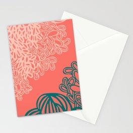 Floral Reef Stationery Cards