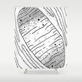Mitochondria, the Powerhouse Shower Curtain