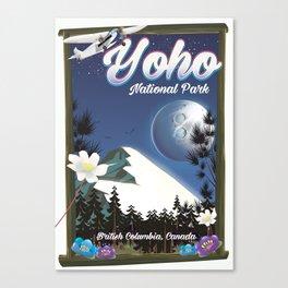 Yoho National park Canada Canvas Print