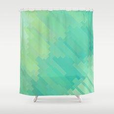 A Q U A Shower Curtain