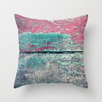 friday Throw Pillows featuring friday by Claudia Drossert