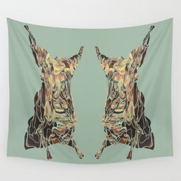 CARCASS OF BEEF: Rembrandt Refabricated Wall Tapestry