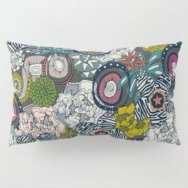 succulents multi dark Pillow Sham