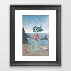 Sea Maiden Framed Art Print