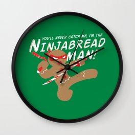 I'M the NINJABREAD MAN Wall Clock
