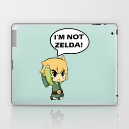 I'm not Zelda! (link from legend of zelda) Laptop & iPad Skin