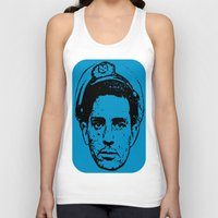 literature Tank Tops featuring Outlaws of Literature (Jack Kerouac) by Silvio Ledbetter