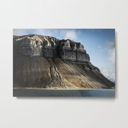 Spitzbergen, Svalbard Jan Mayen Norway Mountain Metal Print