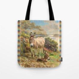 Donkey Love Tote Bag