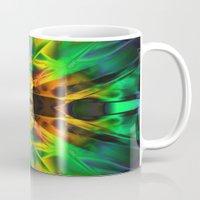 neon Mugs featuring Neon by Assiyam