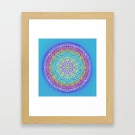Doodle Mandala 0119 Framed Art Print
