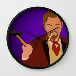 Calvin Candie - Django Unchained Wall Clock