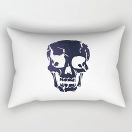 Space Skull Rectangular Pillow