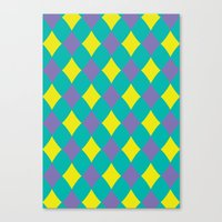preppy Canvas Prints featuring Preppy by machmigo