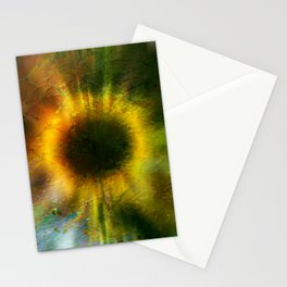 Digitalart : In helianthus Stationery Cards
