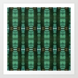 WaterGreens Art Print
