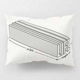 Life is short but deep Pillow Sham