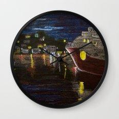 Moonlit Carenage Wall Clock