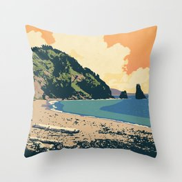 Cape Breton Highlands National Park Throw Pillow
