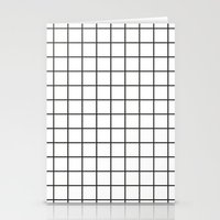 grid Stationery Cards featuring GRID by Anna Lindner