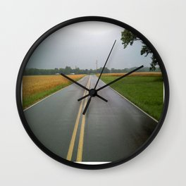 Drakes Creek Rd. Wall Clock