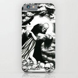 The dance of death iPhone Case