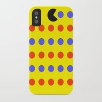 pacman iPhone & iPod Cases featuring Pacman by awesomephant