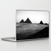 egypt Laptop & iPad Skins featuring Egypt, Pyramids by DLS Design