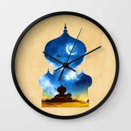 A Wondrous Place Wall Clock