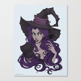 Venomous Velma Canvas Print