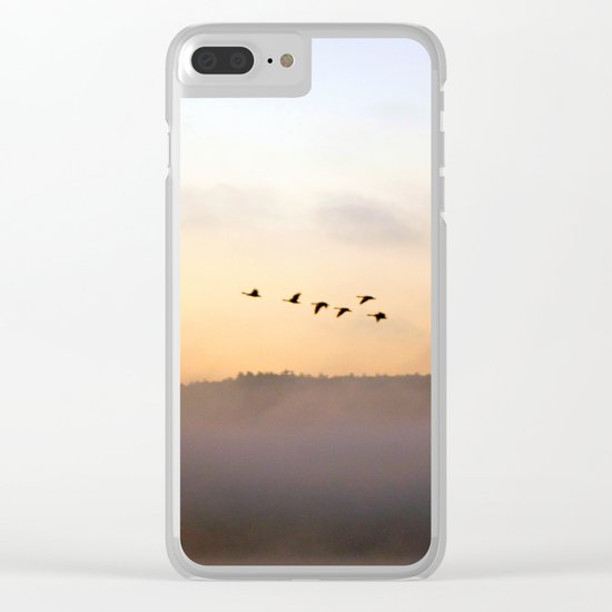 Summer's End in the Adirondacks Clear iPhone Case