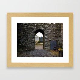 Monasterboice Framed Art Print