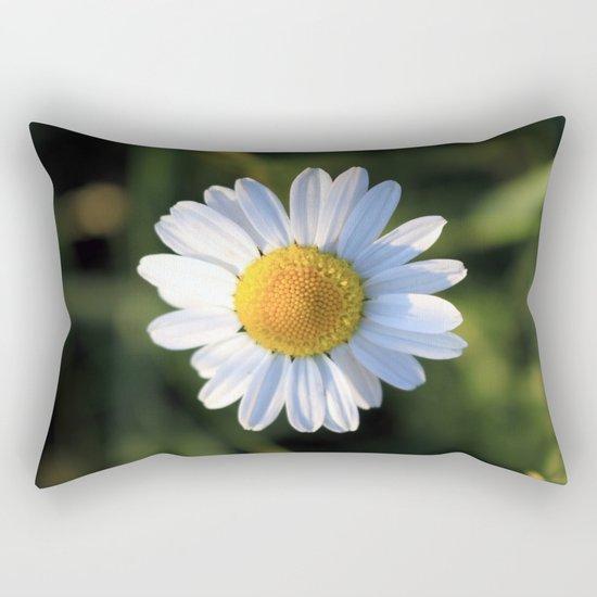 Chamomile flower Rectangular Pillow