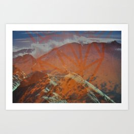 Untitled (Aiguille Rouge) Art Print